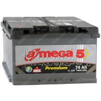 Аккумулятор A-Mega Premium 6СТ-74-А3 L / 74Ah