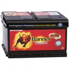 Banner Running Bull AGM