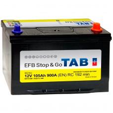 Аккумуляторы TAB Stop&Go EFB Asia