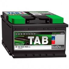 Аккумуляторы TAB Stop&Go AGM