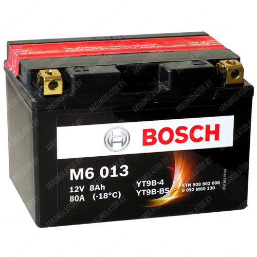 Аккумулятор Bosch M6 YTX9-4/YTX9-BS 508 012 008 8Ah