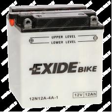 Аккумулятор Exide Conventional 12N12A-4A-1 12Ah