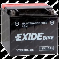 Аккумулятор Exide Maintenance Free YTX20HL-BS  18Ah