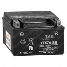 Аккумулятор TAB YTX7A-BS 6Ah