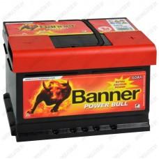 Аккумулятор Banner Power Bull Double Top / 60Ah / Низкий