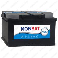 Аккумулятор Monbat AGM 80 R / Низкий / 80Ah / 840А