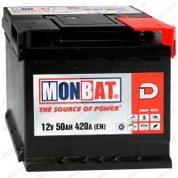 Аккумулятор Monbat Dynamic 50 R / Низкий / 50Ah / 420А