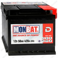 Аккумулятор Monbat Dynamic 50 R / 50Ah / 420А