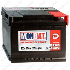 Аккумулятор Monbat Dynamic 55 R / 55Ah / 520А