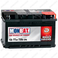 Аккумулятор Monbat Dynamic 77 R / 77Ah / 730А