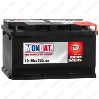 Аккумулятор Monbat Dynamic 85 R / Низкий / 85Ah / 780А