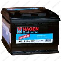 Аккумулятор Hagen Starter 56030 / 60Ah R