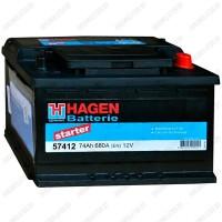 Аккумулятор Hagen Starter 57412 / 74Ah R