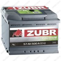 Аккумулятор Зубр Premium / 57Ah