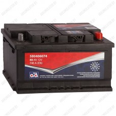 Аккумулятор AD 580406074 / 80Ah / Низкий
