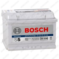 Аккумулятор Bosch S5 EFB E08 / 570 500 065 / 70Ah