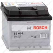 Аккумулятор Bosch S3 001 / 541 400 036 / 41Ah / Низкий