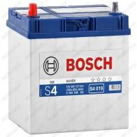 Аккумулятор Bosch S4 019 / 540 127 033 / 40Ah JIS / Тонкие клеммы