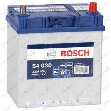 Аккумулятор Bosch S4 030 / 540 126 033 / 40Ah JIS / Тонкие клеммы