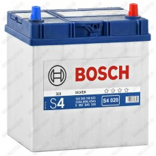 Аккумулятор Bosch S4 020 / 545 155 033 / 45Ah JIS / Тонкие клеммы