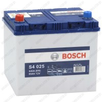 Аккумулятор Bosch S4 025 / 560 411 054 / 60Ah JIS