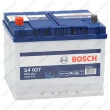 Аккумулятор Bosch S4 027 / 570 413 063 / 70Ah JIS