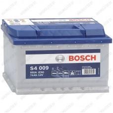 Аккумулятор Bosch S4 009 / 574 013 068 / 74Ah