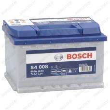 Аккумулятор Bosch S4 008 / 574 012 068 / 74Ah