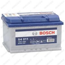 Аккумулятор Bosch S4 011 / 580 400 074 / 80Ah