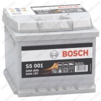 Аккумулятор Bosch S5 001 / 552 401 052 / 52Ah / Низкий