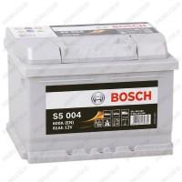 Аккумулятор Bosch S5 004 / 561 400 060 / 61Ah / Низкий