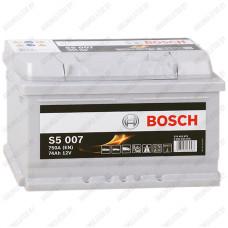 Аккумулятор Bosch S5 007 / 574 402 075 / 74Ah / Низкий