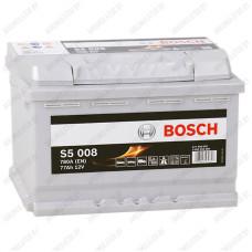 Аккумулятор Bosch S5 008 / 577 400 078 / 77Ah