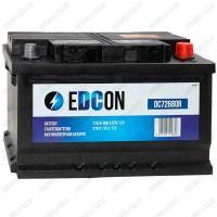 Аккумулятор EDCON DC72680R / 72Ah / Низкий