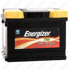 Аккумулятор Energizer Plus / 560 408 054 R / 60Ah EP60L2