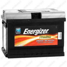 Аккумулятор Energizer Premium / 560 409 054 R / 60Ah EM60LB2 / Низкий