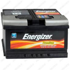 Аккумулятор Energizer Premium / 572 409 068 R / 72Ah EM72LB3 / Низкий