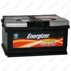 Аккумулятор Energizer Premium / 580 406 074 / 80Ah EM80LB4 / Низкий