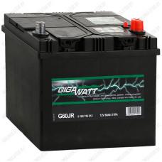 Аккумулятор GIGAWATT G60JR / 60Ah