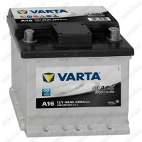 Аккумулятор Varta Black Dynamic A16 / 540 406 034 / 40Ah R