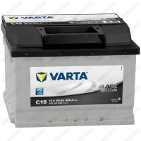 Аккумулятор Varta Black Dynamic C15 / 556 401 048 / 56Ah L