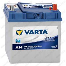 Аккумулятор Varta Blue Dynamic Asia A14 / 540 126 033 / 40Ah R