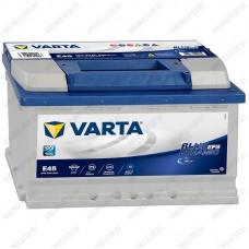 Аккумулятор Varta Blue Dynamic EFB E45 / 570 500 065 / 70Ah R