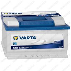 Аккумулятор Varta Blue Dynamic E12 / 574 013 068 / 74Ah L