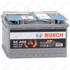 Аккумулятор Bosch S5A / S6 AGM A01 / 570 901 076 / 70Ah