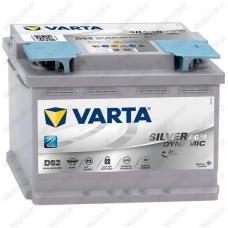 Аккумулятор Varta Silver Dynamic AGM D52 / 560 901 068 / 60Ah R