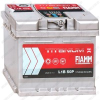Аккумулятор Fiamm Titanium PRO / Низкий / 50Ah / 520А