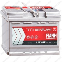 Аккумулятор Fiamm Titanium PRO / 64Ah / 610А / Прямая полярность