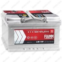 Аккумулятор Fiamm Titanium PRO / Низкий / 75Ah / 730А
