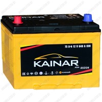 Аккумулятор Kainar 75Ah / Asia / Прямая полярность